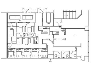 平面図 サイバーシティ12階B型