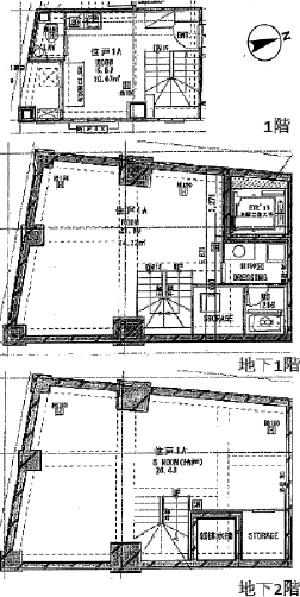 M.A TOWER六本木平面図