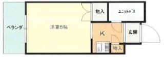 バウハウス502号室図面